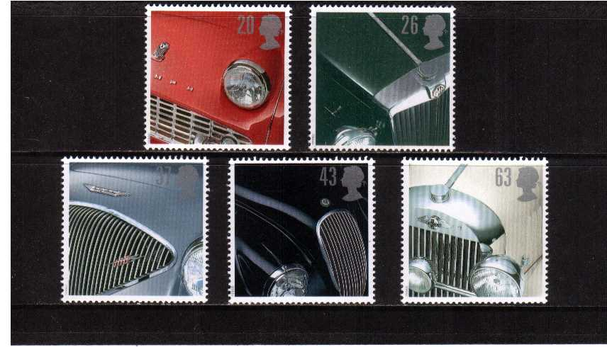 view larger image for SG 1945-1949 (1996) - Classic Sports Cars<br/>set of five