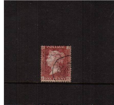 view larger image for SG 43 (1858) - 1d Lake-Red from Plate 179 