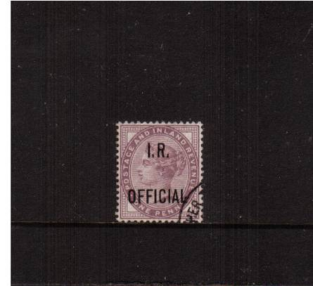 view larger image for SG O3 (1882) - <b>I. R. OFFICIAL</b><br/>