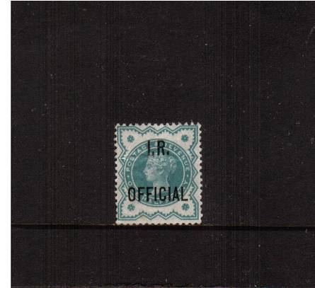 view larger image for SG O17 (1901) - <b>I. R. OFFICIAL</b><br/>