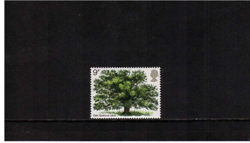 view larger image for SG 922 (1973) - British Trees - Oak Tree single