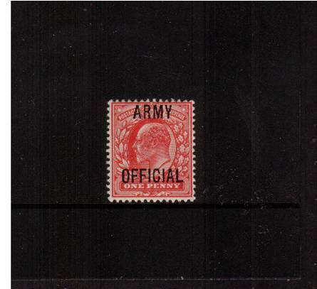 view larger image for SG O49 (1902) - <b>ARMY OFFICIAL</b><br/>