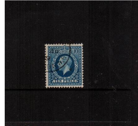 view larger image for SG 448 (1934) - 10d Turquoise-Blue<br/>