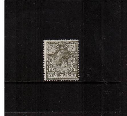 view larger image for SG 387 (1912) - 7d Olive<br/>