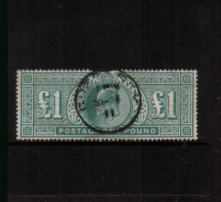 view larger image for SG 266 (1902) - <b>�Dull Blue Green - De La Rue</b><br/>