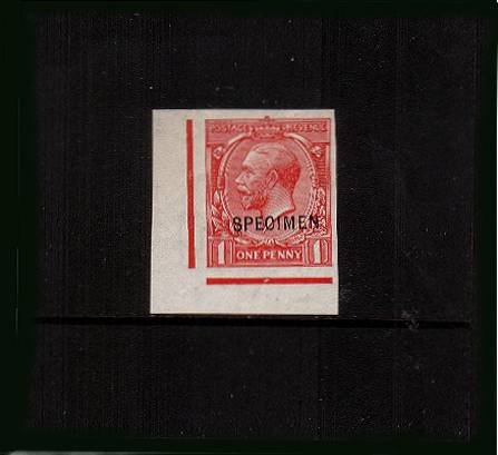view larger image for SG 358spec (1912) - 1d Bright Scarlet<br/>