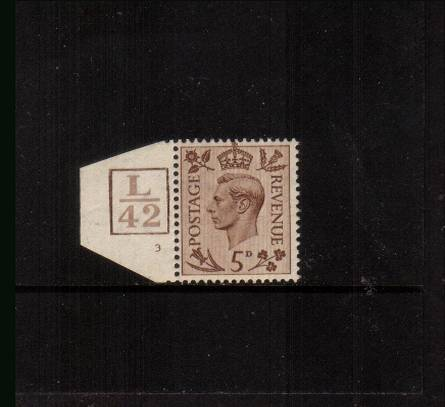 view larger image for SG 469 (1938) - 5d Brown<br/>