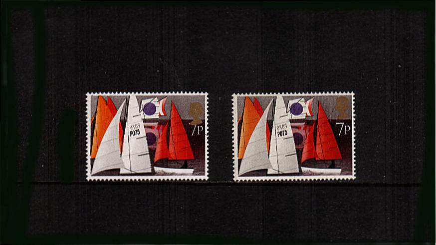 view larger image for SG 980var (1975) - Sailing Issue<br/>