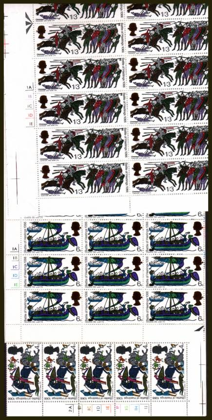 view larger image for SG 705-712 (1966) - 900th Anniversary of Battle of Hastings set of eight. <br/>