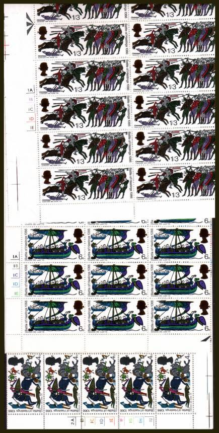 view larger image for SG 705p-712p (1966) - 900th Anniversary of Battle of Hastings PHOS set of eight. <br/>