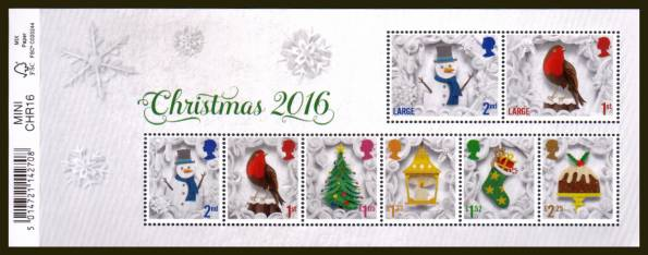 view larger image for SG MS3911 (8 Nov 2016) - Christmas<br/>