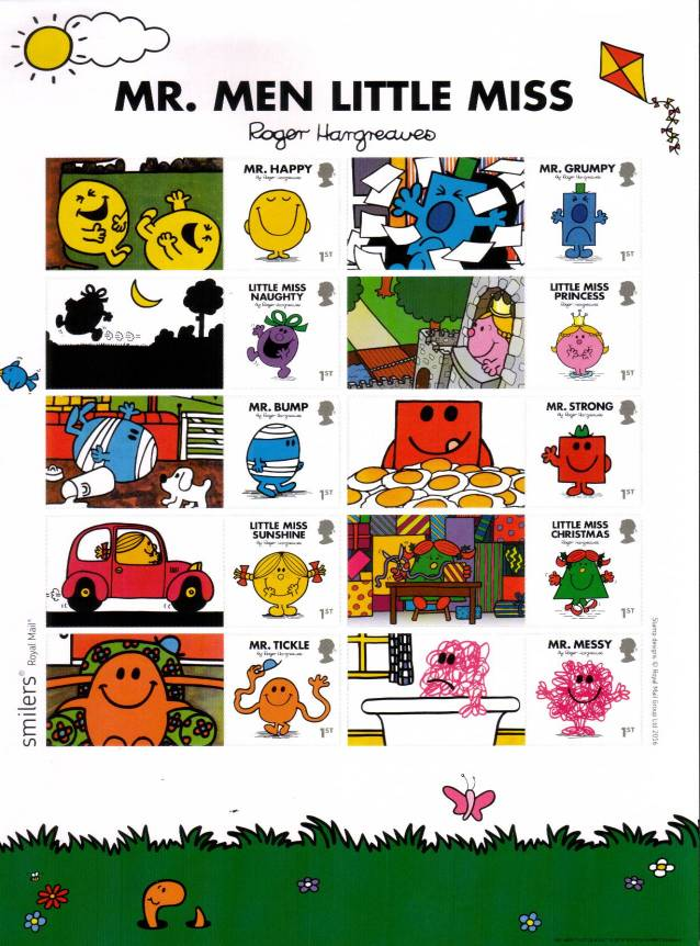 view larger image for SG LS101 (2016) - Mr Men and Little Miss