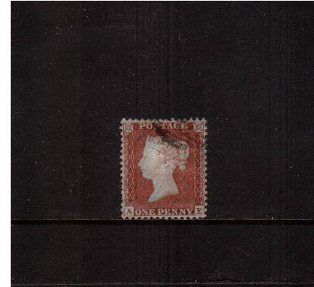 view larger image for SG 22 (1855) - 1d red-Brown- Blue Paper - Die I - Small Crown - Perf 14. 