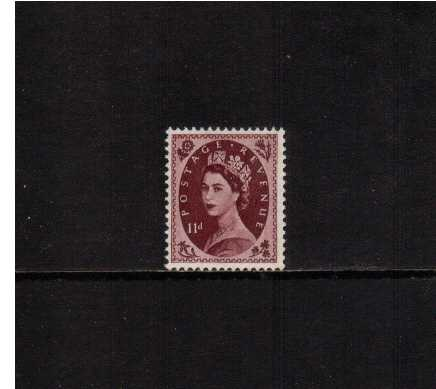 view larger image for SG 528 (1954) - 11d Brown-Purple