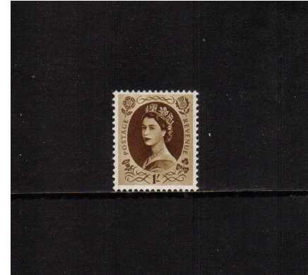 view larger image for SG 529 (1953) - 1/- Bistre-Brown
