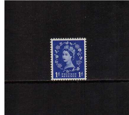 view larger image for SG 541 (1955) - 1d Ultramarine