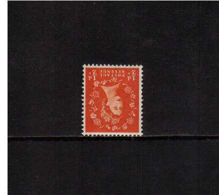 view larger image for SG 515Wi (1954) - �d Orange-Red <br/>WATERMARK INVERTED