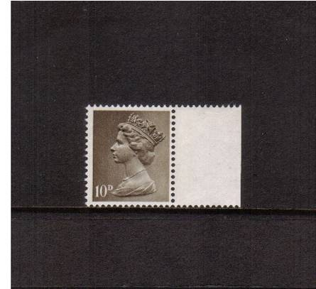 view larger image for SG 741a (1968) - 10d Drab - Two Bands<br>