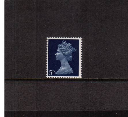 view larger image for SG 735Ey (1968) - 5d Royal Blue<br/>