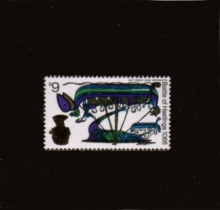 view larger image for SG 711Wi (1966) - Battle of Hastings 6d - Ordinary<br/>