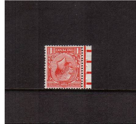 view larger image for SG 419Wi (1924) - 1d Scarlet - Block Watermark.<br/>