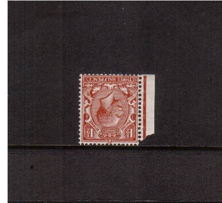 view larger image for SG 420Wi (1924) - 1�d Red Brown - Block Watermark.<br/>