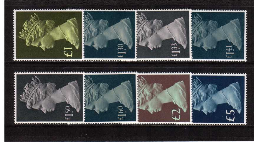 view larger image for SG 1026-1028 (1977-87) - Elizabeth II <br/>