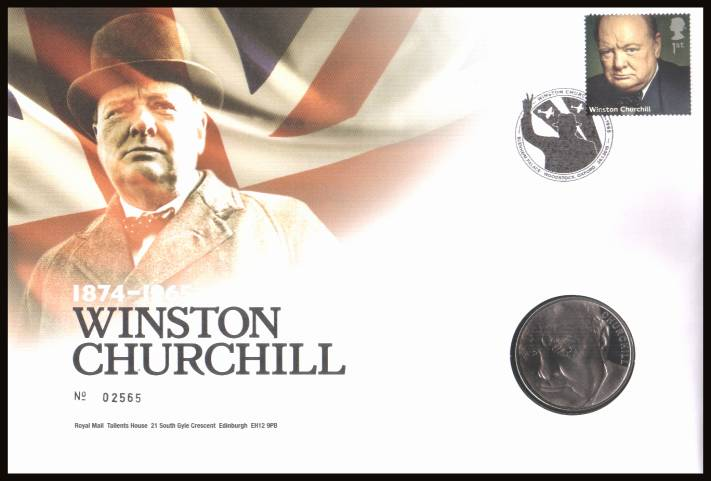 view larger image for SG RMC139 (2015) - Royal Mail and Royal Mint commemorative cover commemorating:<br/> 