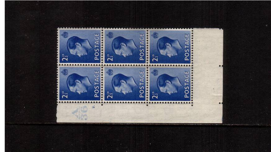 view larger image for SG 460 (1936) - 2�d Bright Blue<br/>