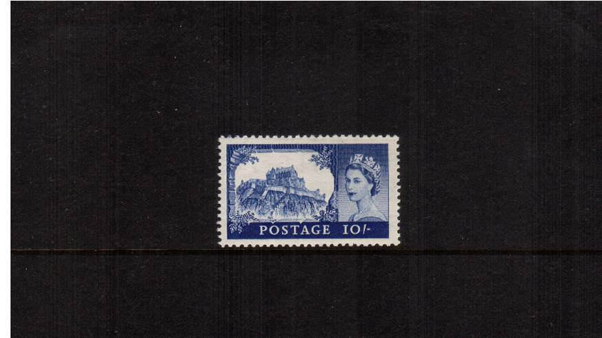 view larger image for SG 538 (1955) - 10/- Ultramarine<br/>