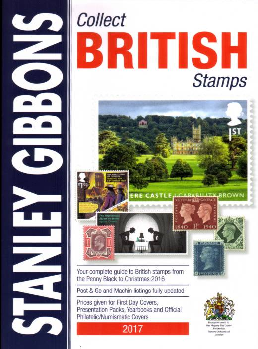 view larger image for  (2017) - GIBBONS - COLLECT BRITISH STAMPS catalogue<br/>