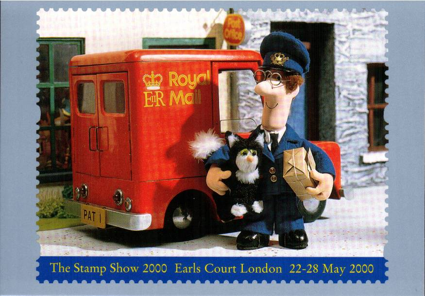 view larger image for PHQ No.D17 (2000) - Postman Pat label single card