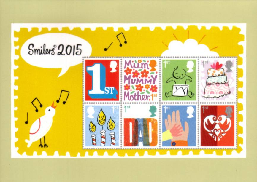 view larger image for PHQ No.D34 (2015) - Greetings set of nine cards