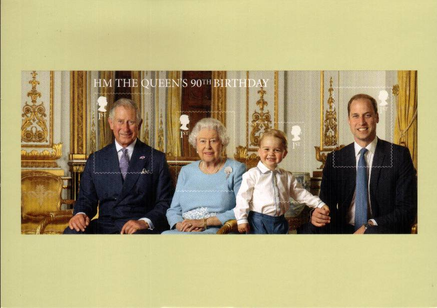 view larger image for PHQ No.414 (2016) - 90th Birthday of Queen Elizabeth II<br/>Set of eleven cards