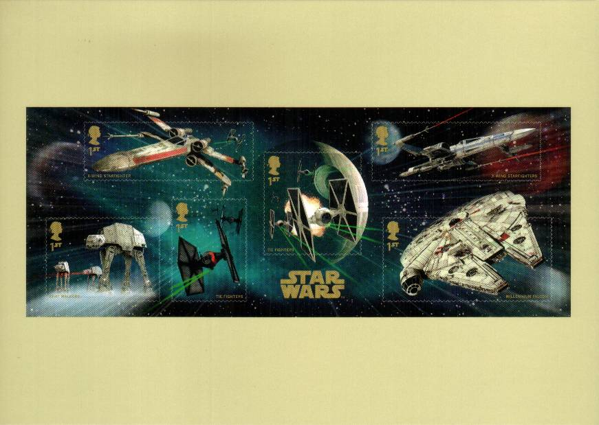 view larger image for PHQ No.408 (2015) - Star Wars<br/>Set of nineteen cards