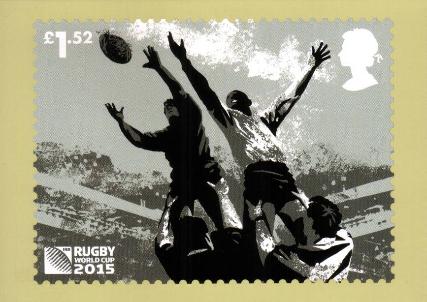 view larger image for PHQ No.407 (2015) - Rugby World Cup<br/>
