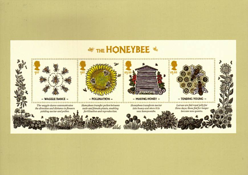 view larger image for PHQ No.405 (2015) - Bees<br/>