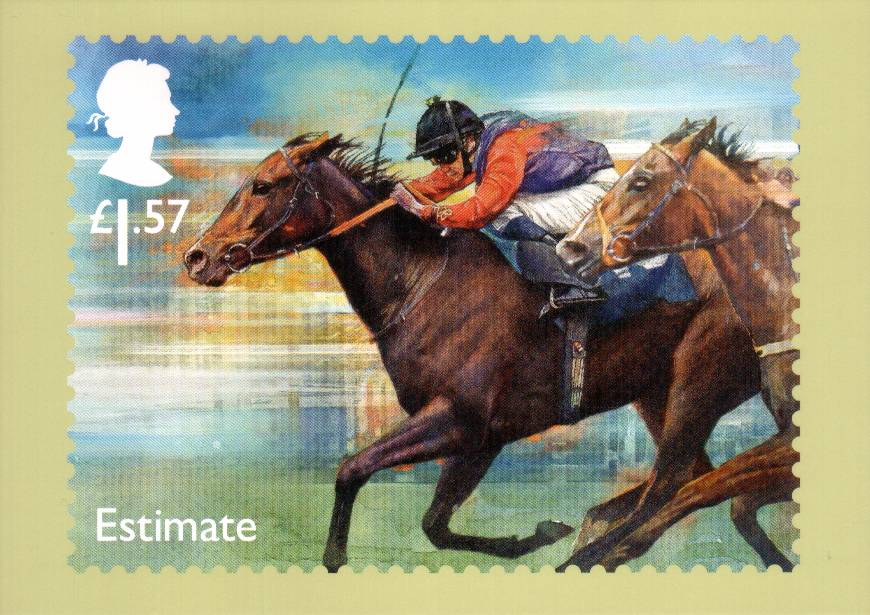 view larger image for PHQ No.427 (2017) - Racehorse Legends