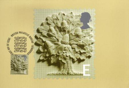 view larger image for PHQ No.20F (2001) - England