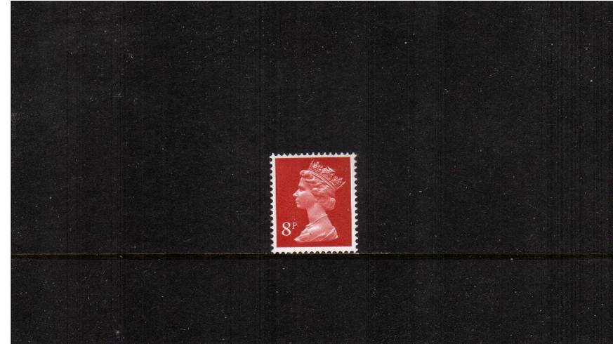 view larger image for SG X879Ey (1979) - 8p Rosine showing <b>PHOSPHOR OMITTED</b>.<br/>