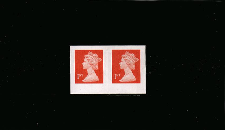 view larger image for SG 2040a (1998) - 1st Bright Orange-Red<br/>