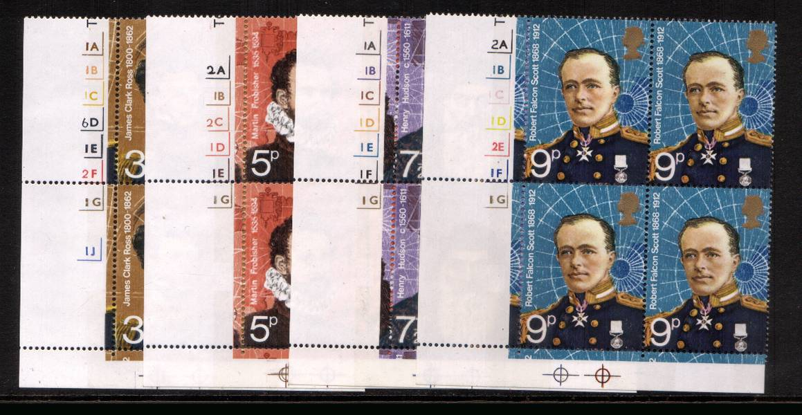 view larger image for SG 897-900 (1972) - British Polar Explorers<br/>