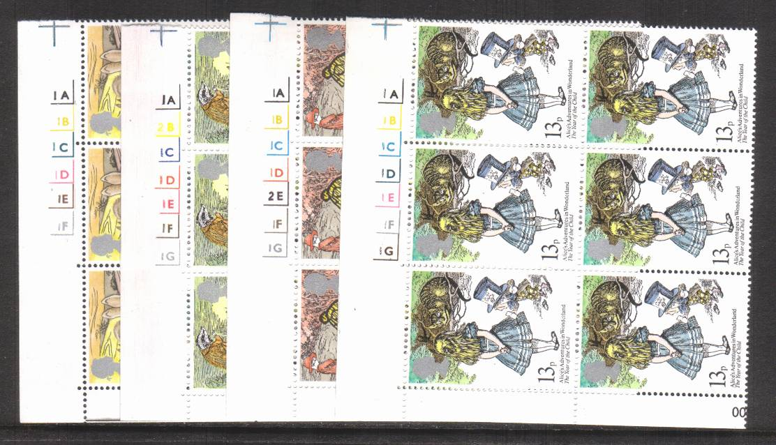 view larger image for SG 1091-1094 (1979) - International Year of the Child<br/>