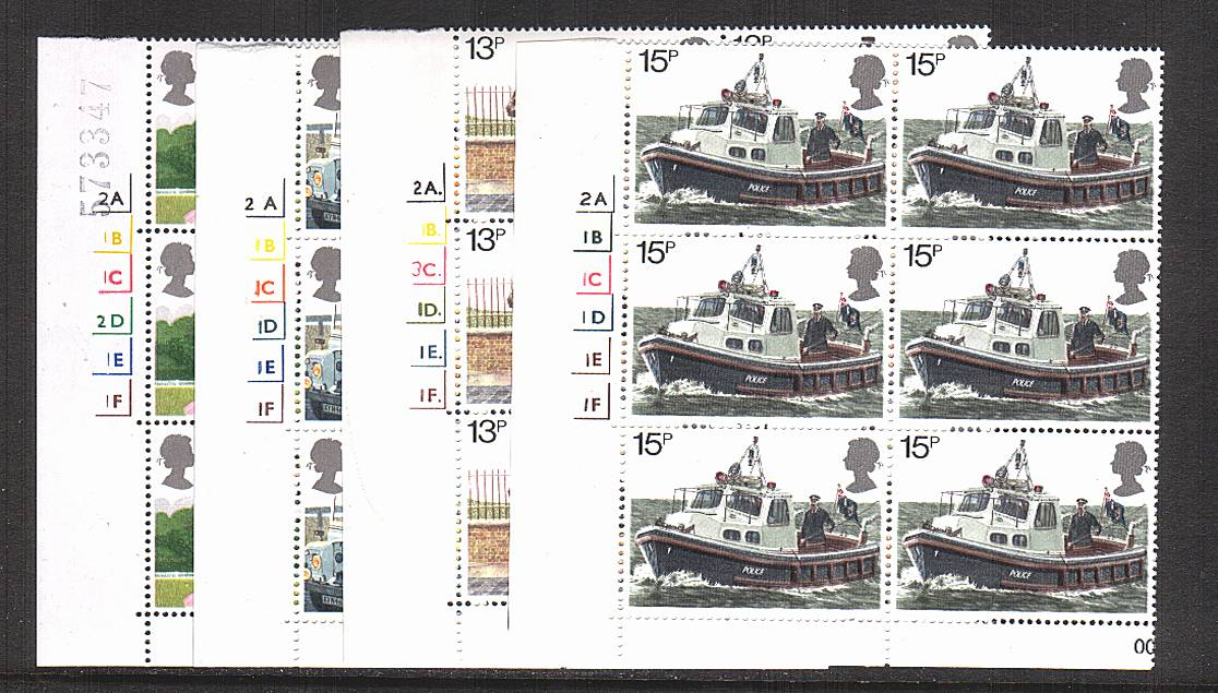 view larger image for SG 1100-1103 (1979) - Metropolitan Police<br/>