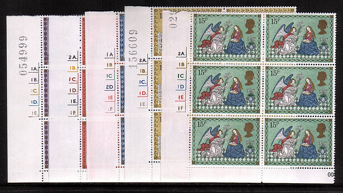 view larger image for SG 1104-1108 (1979) - Christmas<br/>