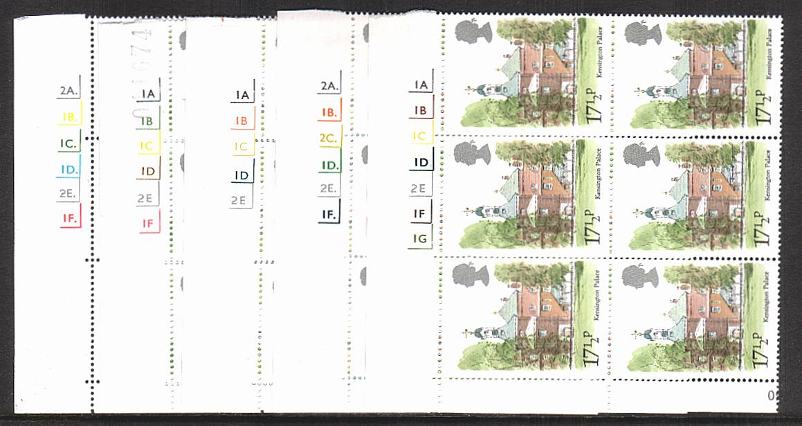 view larger image for SG 1120-1124 (1980) - London Landmarks<br/>