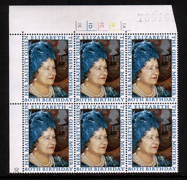 view larger image for SG 1129 (1980) - 80th Birthday of the Queen Mother<br/>