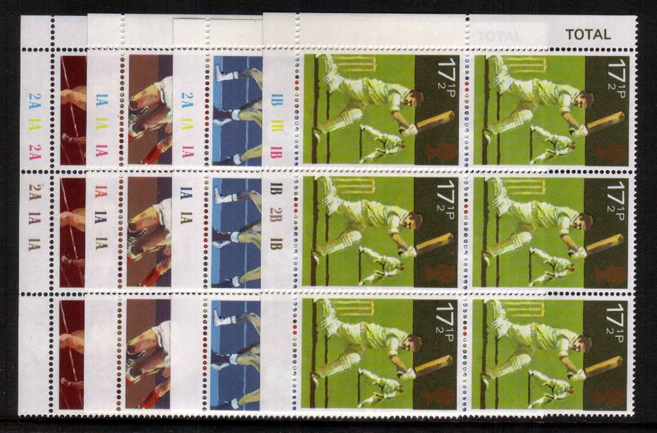 view larger image for SG 1134-1137 (1980) - Sports Centenaries<br/> 
