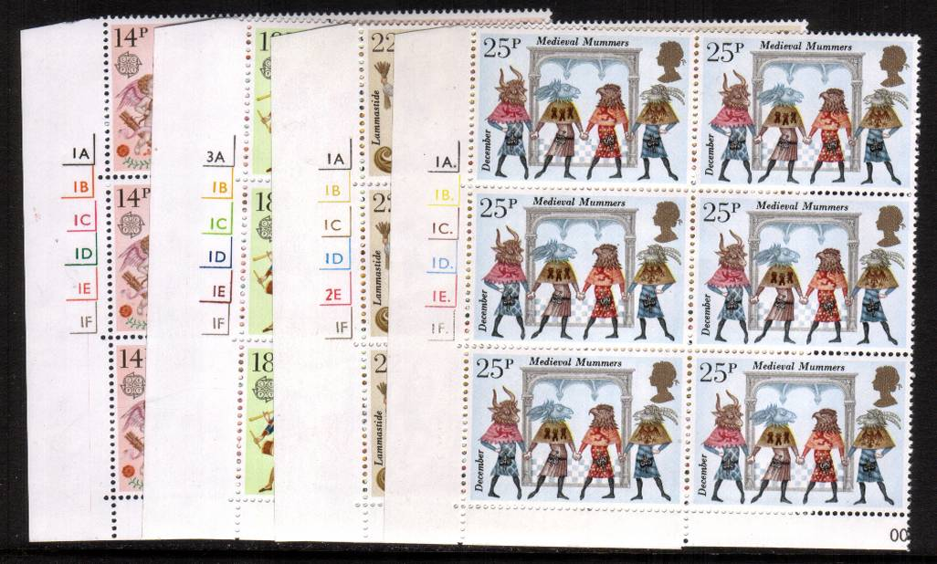 view larger image for SG 1143-1146 (1981) - EUROPA - Folklore<br/>