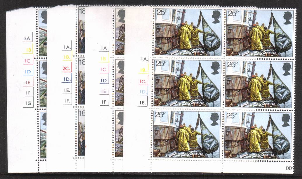 view larger image for SG 1166-1169 (1981) - Fishing Industry<br/>